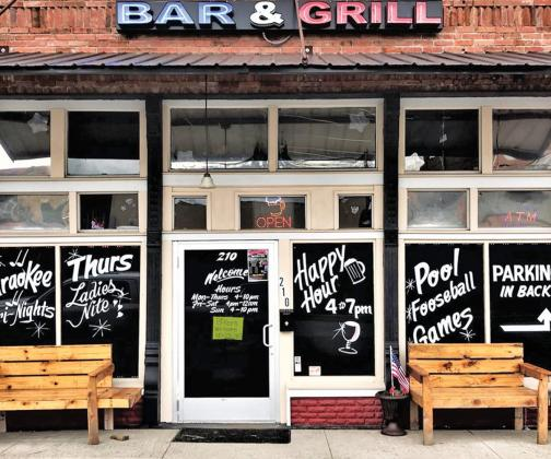 Ferris Bar and Grill, 210 W. 6th St. Ferris, has police concerned with outlaw motorcycle gangs frequenting the facility. A handwritten sign posted on the front door welcoming bikers as long as they did not wear their colors was posted this past week. According to Ferris Chief of Police Eddie Salazar, he did not tell the bar to put up the sign.