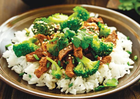 Apple Cider Vinegar Beef and Broccoli