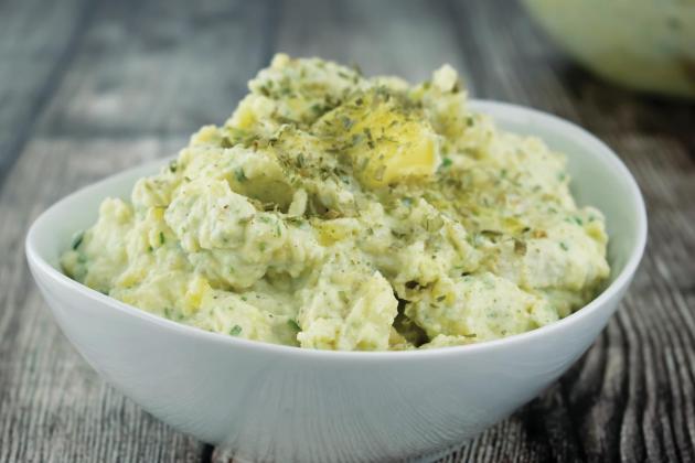 Horseradish Mashed Potatoes