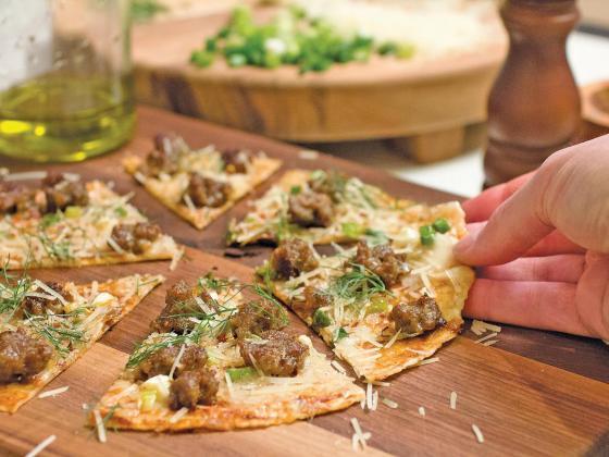 Gluten-Free Barbecue Skillet Pizza