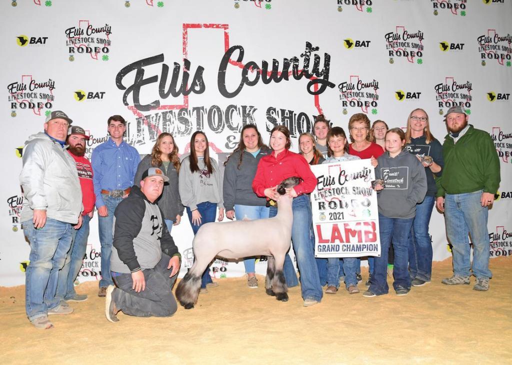 Grand Champion Market Lamb: Savannah Whitt, Heritage FFA