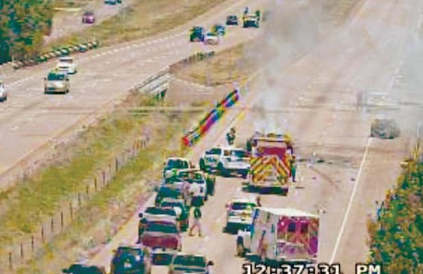 Texas Department of Public Safety camera snapshot at IH45 – FM660.