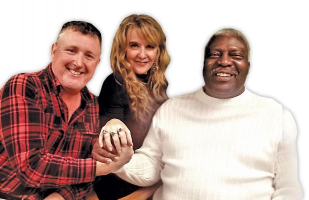 ECP-TV TEAM - Len Baxley, Rita Cook and Tommy Scott.