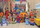 Lyndsey William's Kindergarten Class.