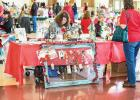 More than 25 vendors set up inside the Red Oak High School cafeteria for the 2019 Christmas Market.