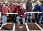 Red Oak Mayor Mark Stanfill officially cut the ribbon on the new baseball/softball complex.