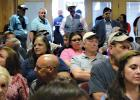 In a standing room only city council chamber room, Ferris police and fire personnel were in attendance as was, not only Ellis County Sheriff Chuck Edge, but also sheriff department personnel and many concerned citizens on both sides of the issue.