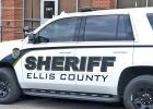 There are a total of about 40 vehicles in the fleet – not all have the new logo yet.  The vehicles with new logos are a new program this year, and Hamilton said Ellis County Sheriff Chuck Edge worked alongside the county commissioners and Ellis County Judge Todd Little to make the new look a reality.