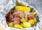 Build-Your-Own Sausage Foil Packet Dinner