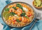 Lime-Ginger Shrimp Fried Rice