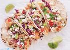 California Queso Fresco Fish Tacos